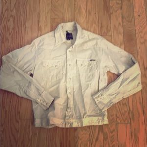 NWT $190 civilianwaire solid beige button front